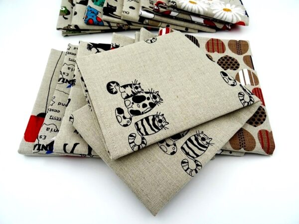 Linen kitchen towel. Towels