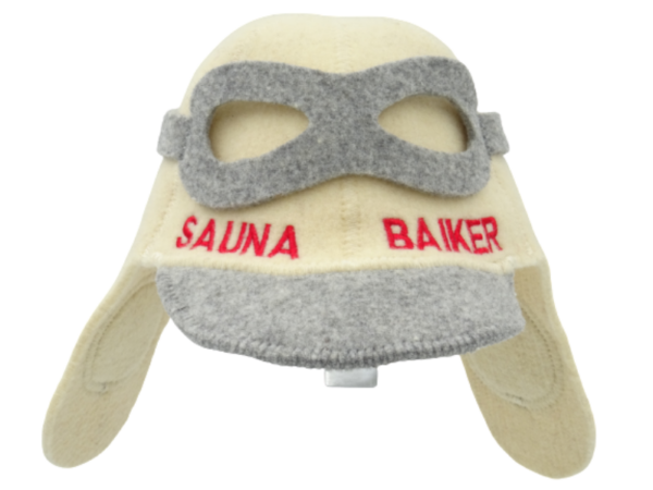 Saunamüts aviaator Sauna Baiker beez