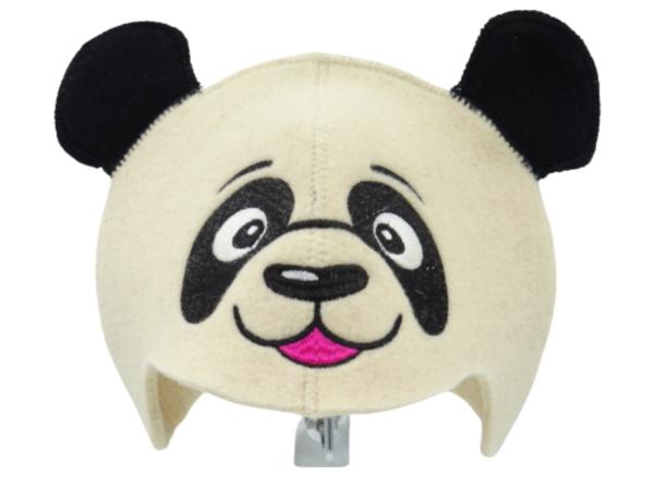 Sauna hat Panda beige