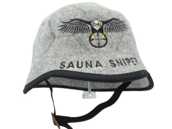 Saunamüts kiiver Sauna Sniper 0149