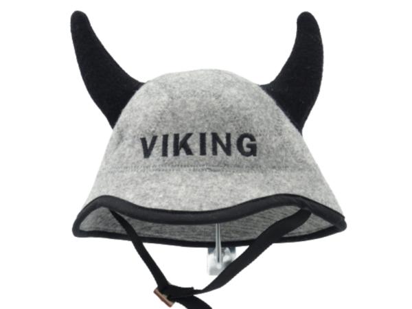 Saunamüts kiiver sarvedega Viking 1129