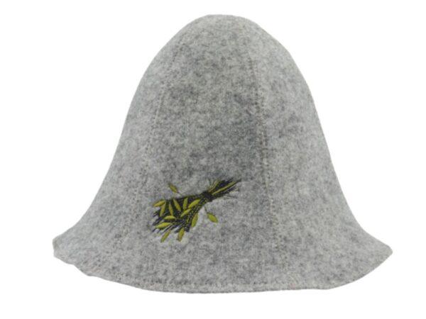 saunamüts saunavihaga hall