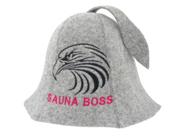 Sauna hat Eagle Sauna Boss gray M020