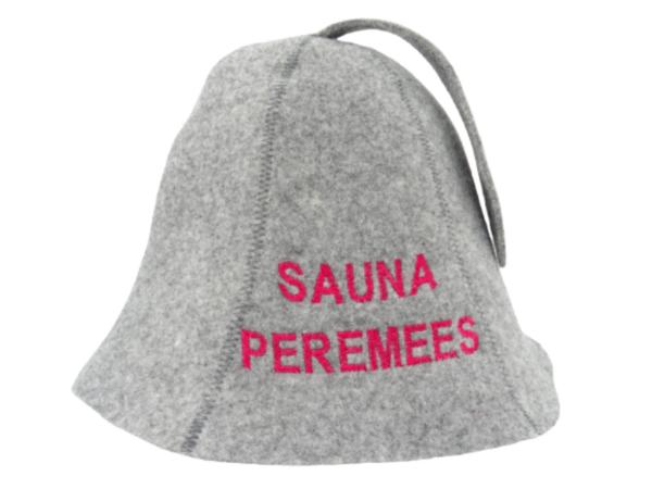 Sauna hat Sauna Peremees gray M014