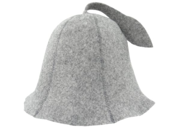 Men's sauna hat gray