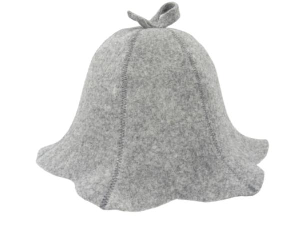Women's sauna hat gray N011