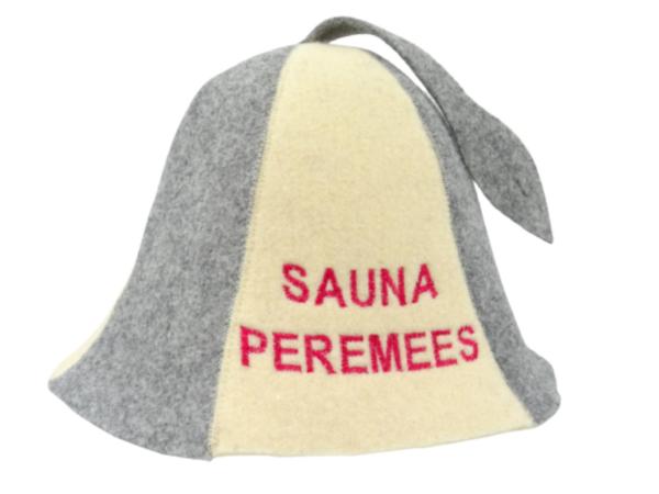 Sauna hat Sauna Peremees beige grey M016