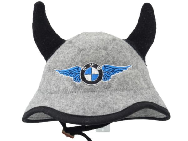 Sauna hat helmet with horns BMW 1127