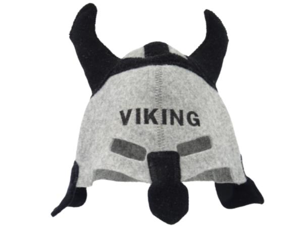 Sauna hat knight Viking gray 1091