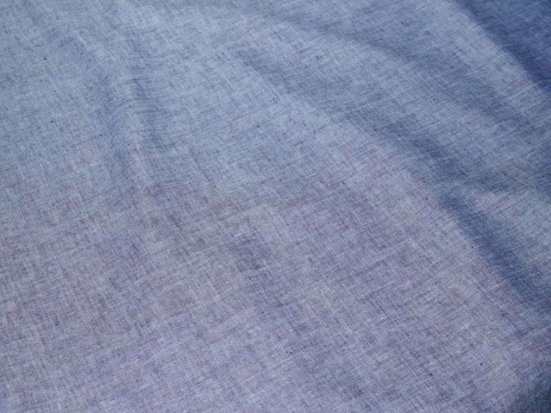 Linen fabric softened