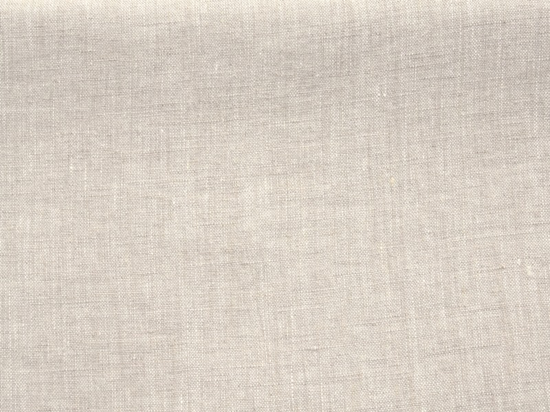 stonewashed linen fabric natural