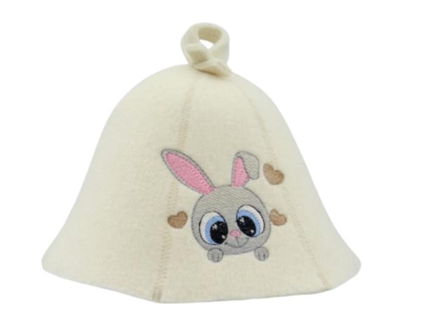 Sauna hat for children Bunny