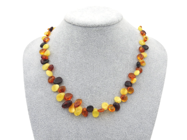 necklace made of amber