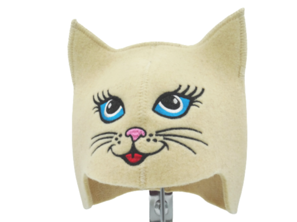 Sauna hat for children Cat