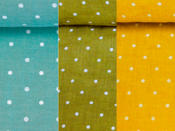 washed linen fabric 3 colors