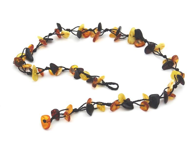 Amber necklace 43cm 10g no07 2