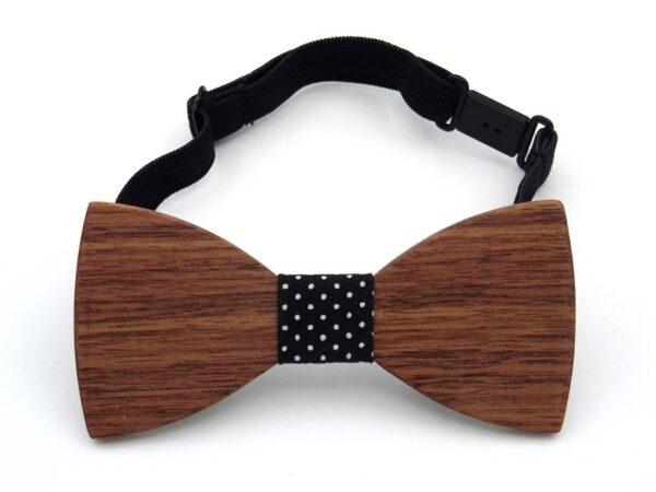 boys wooden bow tie