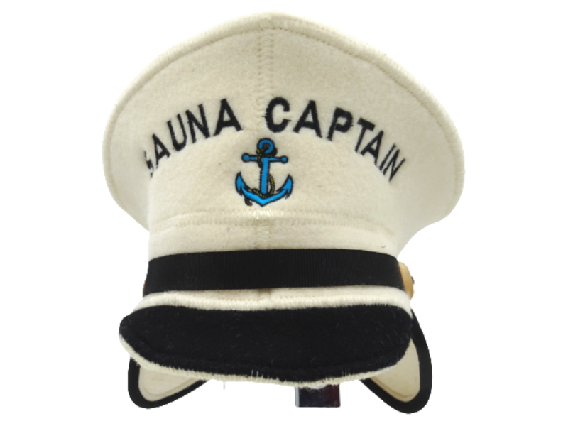 sauna hat captain