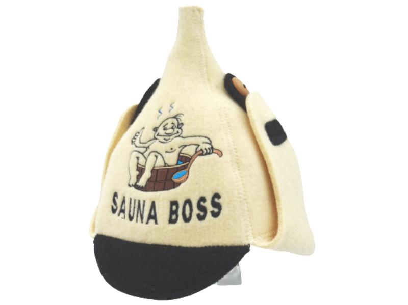 mens sauna hat budenovka
