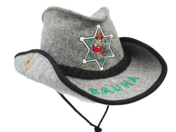 Шляпа для сауны Шериф