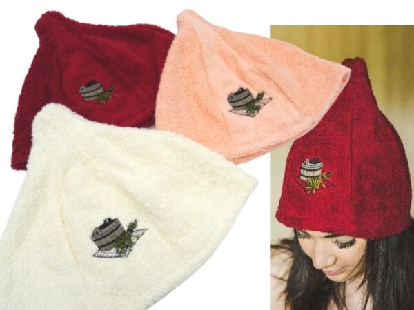 naiste frotee saunamüts