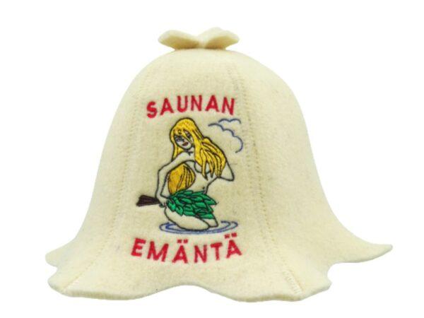 Sauna hat Saunan Emäntä beige F0035