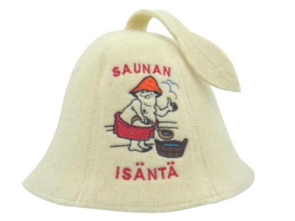 Sauna hat Saunan Isäntä beige F0007